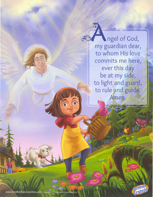 Brother Francis Mini Poster - Angel of God