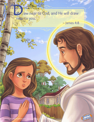 Brother Francis Mini Poster - Examination of Conscience (Girl)