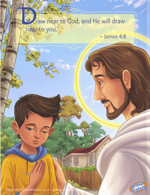 Brother Francis Mini Poster - Examination of Conscience (Boy)