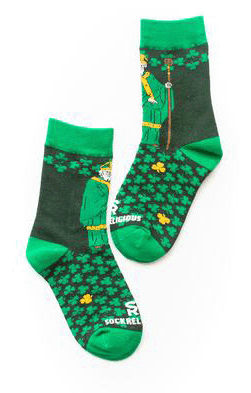 St. Patrick Kids Socks